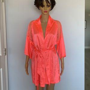 Victoria's Secret neon robe